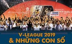 Infographic: V-League 2019 và những con số