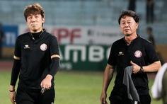HLV CLB TP.HCM không đổ lỗi cho trọng tài về bàn thua đầu tiên trước Hà Nội FC
