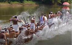 Video: Độc đáo đua thuyền rắn ở Kerala