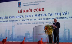 Khởi công kho chứa LNG trị giá hơn 6.500 tỉ đồng