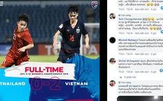 CĐV Thái Lan 'khóc như mưa': 'Chúng ta đang quá run sợ trước Việt Nam'