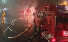 Cà Mau: liên tiếp cháy trong đêm, thiệt hại nhiều tỉ đồng