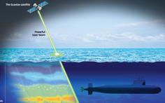 Trung Quốc bí mật thử laser dò tàu ngầm trên Biển Đông