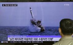 Triều Tiên xác nhận phóng tên lửa mới từ tàu ngầm