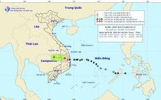 Bão số 5 thành áp thấp nhiệt đới, mưa lớn ở Trung bộ và Tây Nguyên