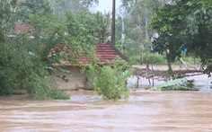 Quảng Ngãi: bão qua, mưa tới lại lo sạt lở, lũ dâng