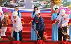 Chủ tịch Quốc hội khởi công di tích lịch sử Lộ Vòng Cung
