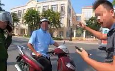 Người vi phạm giao thông vu khống 'công an đánh người' đến đồn xin lỗi