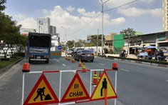 TP.HCM cấm ôtô rẽ trái vào đường Nguyễn Hữu Cảnh để bớt áp lực giao thông