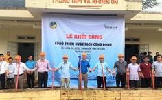 HEINEKEN Việt Nam tài trợ 300 triệu đồng xây dựngcông trình nước tại Lai Châu.