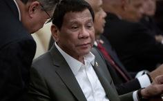 Ông Duterte tiết lộ đang mắc bệnh 'mắt to mắt nhỏ'