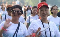 1.000 người đi bộ '5.000 bước chân hạnh phúc' vì bệnh nhân ung thư