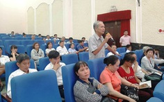 Cử tri Thủ Đức bức xúc về dự án Khu đô thị Đại học Quốc gia TP.HCM