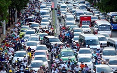 Sửa đường Nguyễn Hữu Cảnh: Giao thông 'tê liệt'!