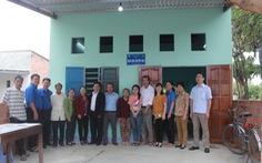 Trường xây nhà tặng sinh viên nghèo
