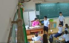 Đang dạy, cô giáo giật mình khi phụ huynh gọi: 'Sao cô phạt con tôi?'