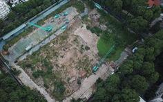 Rao bán đất nền nhà thi đấu Phan Đình Phùng để dụ khách hàng