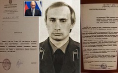 'Giải mật' hồ sơ điệp viên ông Putin thời làm cho KGB
