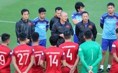 HLV Park Hang Seo loại 5 cầu thủ, bổ sung 3 người từ đội U22 lên tuyển quốc gia