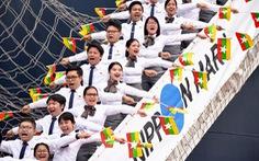 Đại biểu SSEAYP 'xin chào Việt Nam'