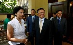 Lãnh đạo đối lập Campuchia Kem Sokha gặp đại sứ Pháp Eva Nguyen Binh