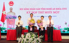 Nghệ An có hai phó chủ tịch tỉnh mới