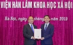 Chủ tịch Viện hàn lâm KHXH Việt Nam mới 44 tuổi