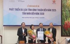 Bình Thuận nhận đề án phát triển du lịch đến năm 2025