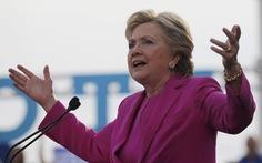 Bà Hillary Clinton: 'Rất nhiều người đang hối thúc tôi tái tranh cử tổng thống'