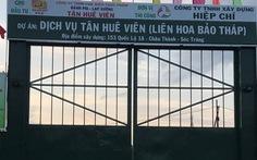 Tân Huê Viên sẽ dừng thi công Liên hoa bảo tháp trong khu công nghiệp