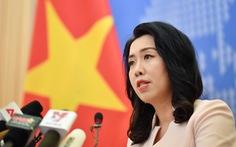 Việt Nam bác phát ngôn sai trái của Trung Quốc về Trường Sa và Hoàng Sa