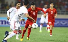 Trực tiếp: Hiệp 2 trận đấu Việt Nam gặp UAE