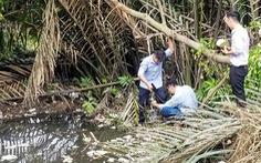 Vụ đổ trộm chất thải ở quận 12: Lấy mẫu điều tra