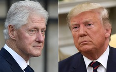 Clinton khuyên Trump: 'Đừng bận tâm điều tra luận tội, ông được thuê mà!'