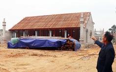 Đình chỉ việc xây chùa Linh Sâm ngay trên đất di tích quốc gia, xâm lấn đền cũ