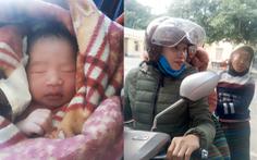 Bé trai 3kg bụ bẫm chào đời bên đường trong vòng tay các cô giáo