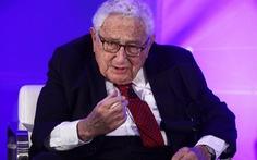 Henry Kissinger: Mỹ - Trung nên học cách chung sống hòa bình