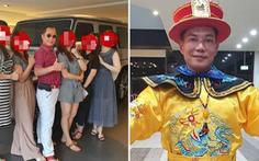 'Vua cần cẩu' Đài Loan khoe có 4 vợ, 16 bồ