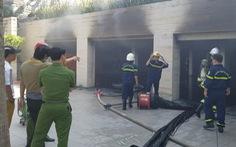 Video: Hỏa hoạn tại biệt thự của đại gia thép