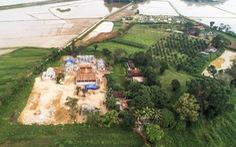 Toàn cảnh chùa Linh Sâm 'triệu đô' xây 'chui' trên đất di tích đền cổ