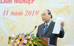 Thủ tướng: Phải sắp xếp xong các công ty nông lâm nghiệp trong năm 2020
