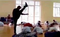 Thầy dạy võ đánh học trò để 'làm màu' bị phạt 2,5 triệu đồng