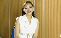 Á hậu Nguyễn Tường San dự đoán Công Phượng và Tiến Linh sẽ 'nổ súng' trong trận gặp Thái Lan