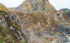 Bị đá văng trúng khi khai thác mỏ âm, 1 người chết, 1 người bị thương