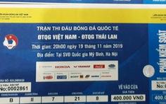 Phát hiện hơn 1.000 vé giả trận Việt Nam- Thái Lan