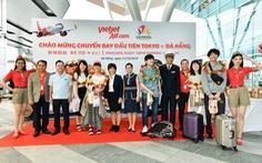 Vietjet khai trương đường bay thẳng Đà Nẵng - Tokyo