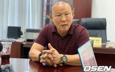 HLV Park Hang Seo 'dốc cạn nỗi lòng' khi trả lời phỏng vấn độc quyền tờ Chosun Ilbo