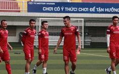 5 cầu thủ đá trận gặp Thái Lan tập riêng trong buổi tập của U22 Việt Nam