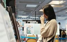 Những giọt nước mắt rơi ở triển lãm 'Em không sợ'