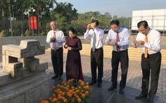 Lãnh đạo TP.HCM dâng hương kỷ niệm 79 năm ngày Nam Kỳ khởi nghĩa